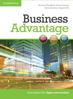Business Advantage Upper-Intermediate Class CDs 4