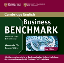 Business Benchmark 2nd Ed. Pre-Int./Int. Business Preliminary Class CDs
