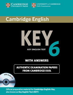 Cambridge English Key 6 SB + key + Audio CD