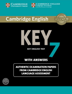 Cambridge English Key 7 SB + key + Audio CD