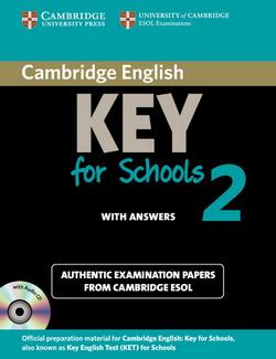 Cambridge English Key for Schools 2 SB + key + Audio CD