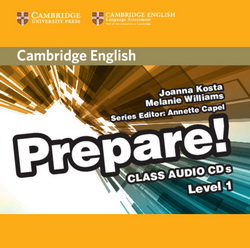 Cambridge English Prepare! 1 Class CDs 4