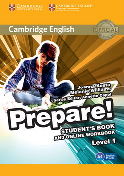 Cambridge English Prepare! 1 SB + Online Workbook