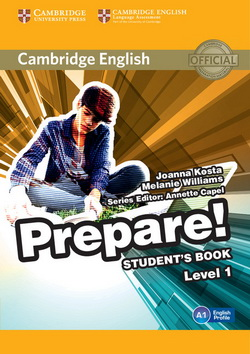Cambridge English Prepare! 1 SB