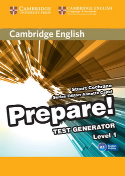Cambridge English Prepare! 1 Test Generator CD-ROM