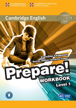 Cambridge English Prepare! 1 WB + Downloadable Audio
