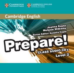 Cambridge English Prepare! 2 Class CDs 4