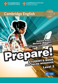 Cambridge English Prepare! 2 SB + Online Workbook