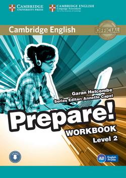 Cambridge English Prepare! 2 WB + Downloadable Audio