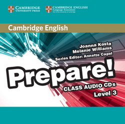 Cambridge English Prepare! 3 Class CDs 4