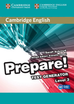 Cambridge English Prepare! 3 Test Generator CD-ROM