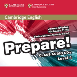 Cambridge English Prepare! 4 Class CDs 4