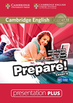 Cambridge English Prepare! 4 Presentation Plus DVD-ROM