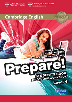 Cambridge English Prepare! 4 SB + Online Workbook