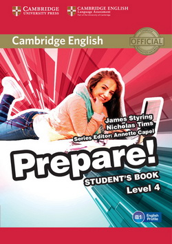 Cambridge English Prepare! 4 SB