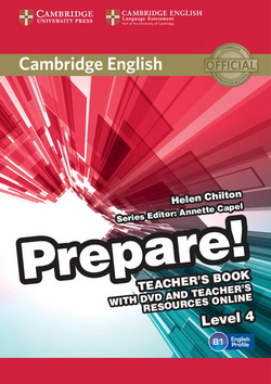 Cambridge English Prepare! 4 TB + DVD + Teacher's Resources Online