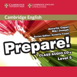 Cambridge English Prepare! 5 Class CDs 4