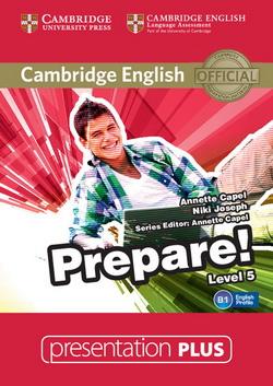 Cambridge English Prepare! 5 Presentation Plus DVD-ROM
