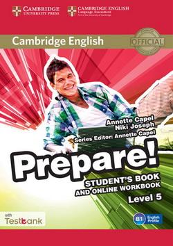 Cambridge English Prepare! 5 SB + Online Workbook + Testbank