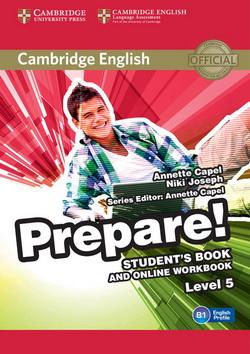 Cambridge English Prepare! 5 SB + Online Workbook