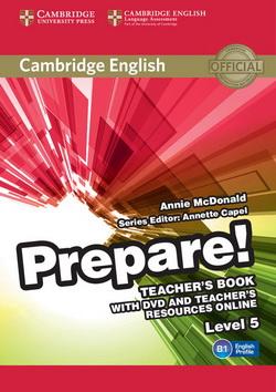 Cambridge English Prepare! 5 TB + DVD + Teacher's Resources Online