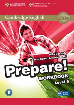 Cambridge English Prepare! 5 WB + Downloadable Audio
