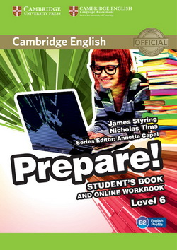Cambridge English Prepare! 6 SB + Online Workbook