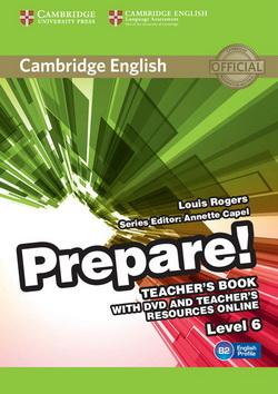 Cambridge English Prepare! 6 TB + DVD + Teacher's Resources Online