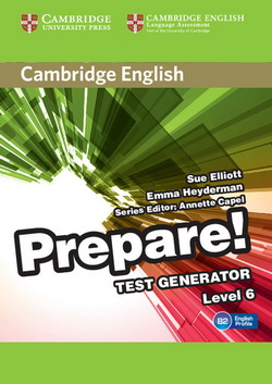Cambridge English Prepare! 6 Test Generator CD-ROM