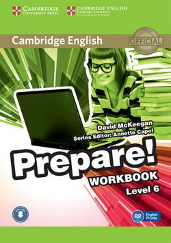 Cambridge English Prepare! 6 WB + Downloadable Audio