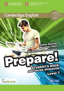 Cambridge English Prepare! 7 SB + Online Workbook + Testbank