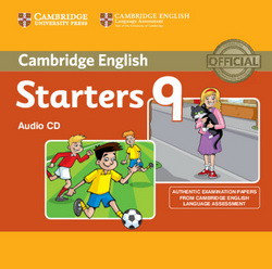 Cambridge English Young Learners 9 Starters Audio CD