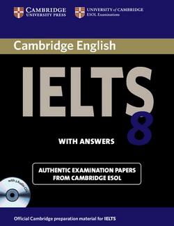 Cambridge IELTS 8 SB + key + Audio CDs