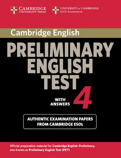 Cambridge Preliminary English Test 4 SB + key 4