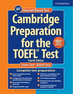 Cambridge Preparation for the TOEFL Test iBT 4th Edition + Online Practice Tests + Audio CDs