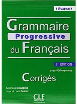 Grammaire Progr du Franc 2e Edition Avan Corriges