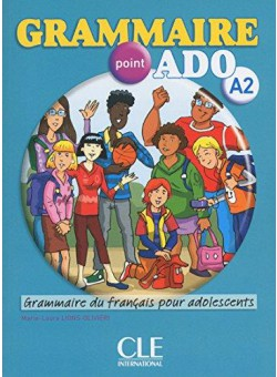 Grammaire point ado A2 Livre + CD audio