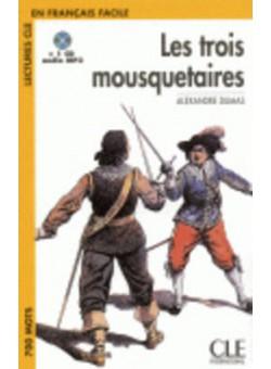 LCF1 Les Trois Mousquetaires  Livre+CD