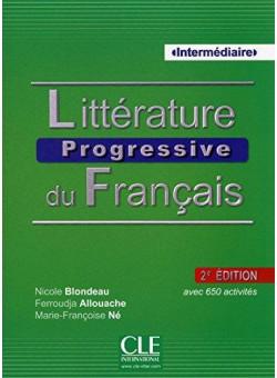 Litterature Progr du Franc 2e Edition Interm Livre + CD