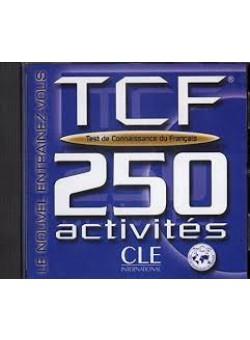 TCF 250 activities Test de Connaissance du francais CD