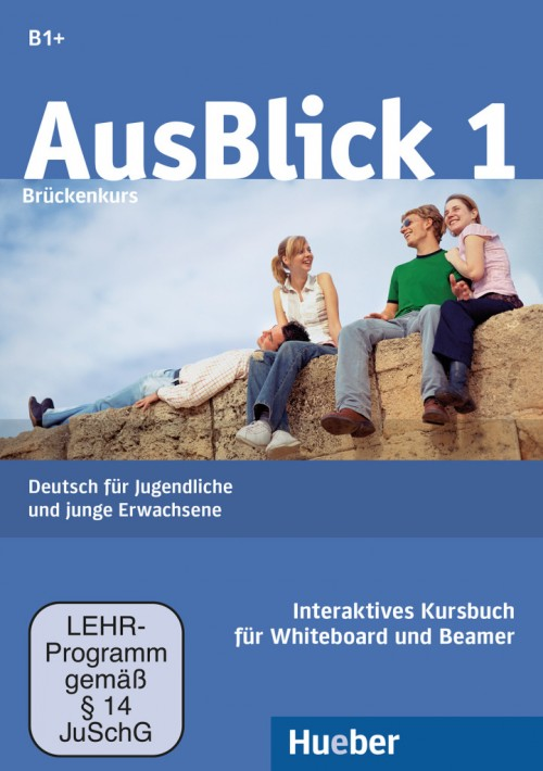 AusBlick 1 Bruckenkurs Interaktives Kursbuch fur Whiteboard und Beamer – DVDROM