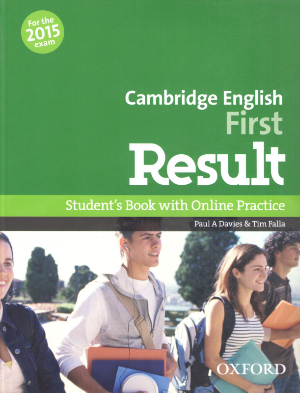 Cambridge English: First Result Student's Book and Online Practice 3