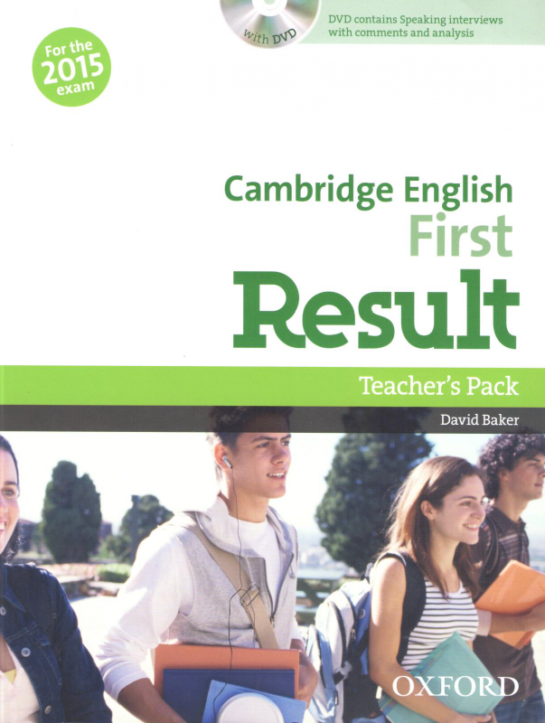 Cambridge English: First Result Teacher's Pack with DVD