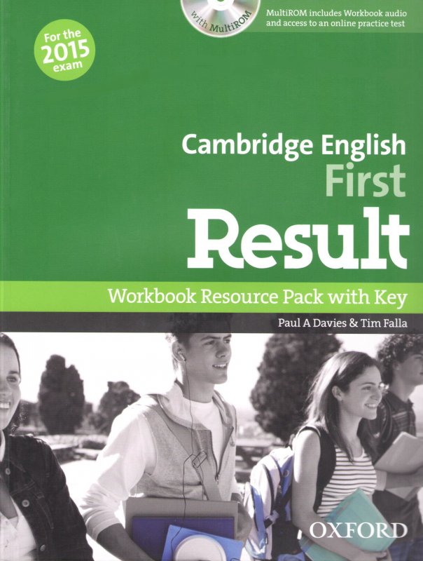 Cambridge English: First Result Workbook Resource Pack with key and MultiROM