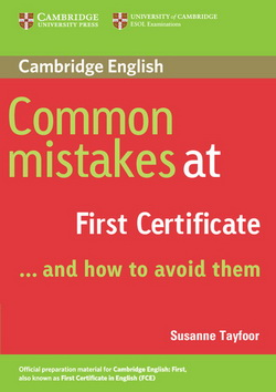 Common Mistakes at First Certificate 4