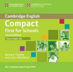 Compact First for Schools 2nd Edition Class CD 4