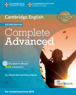 Complete Advanced 2nd Edition SB + key + CD-ROM + Testbank
