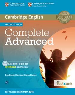 Complete Advanced 2nd Edition SB w/o key + CD-ROM + Testbank