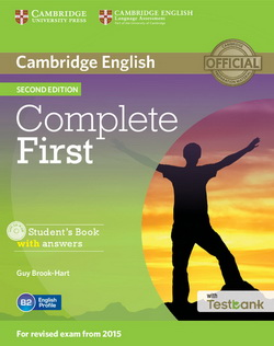 Complete First 2nd Edition SB + key + CD-ROM + Testbank