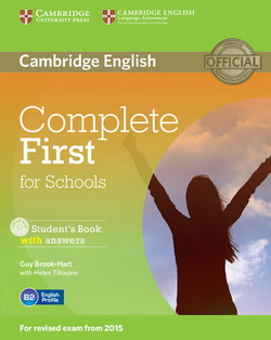 Complete First for Schools SB + key + CD-ROM